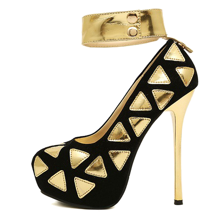 33c99fb7e65 Gold Shoes - Shoes for a Real Princess
